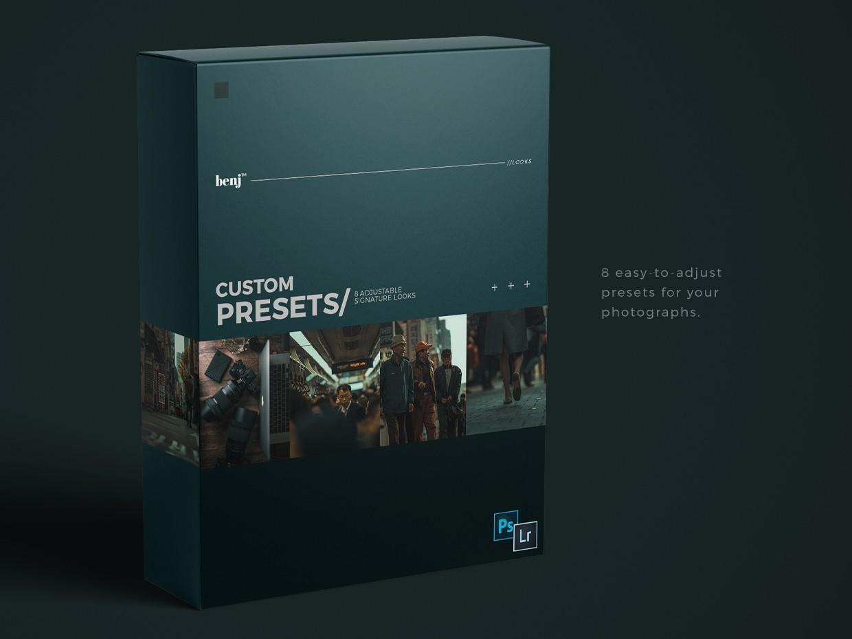 benj™ Custom Presets - Cinema Prelude