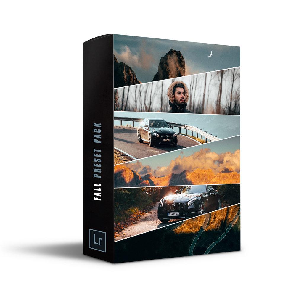 Alen Palander - Fall Pack - 8 Premium Presets