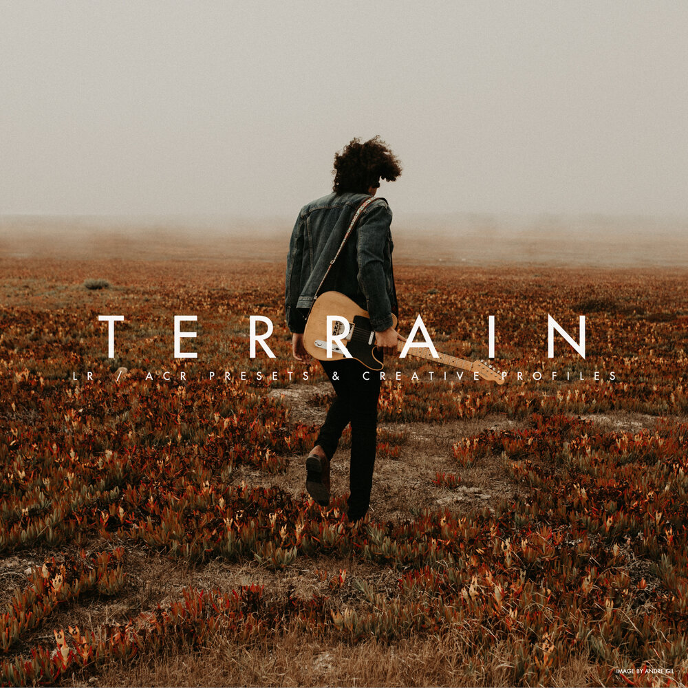 Archipelago TERRAIN LR/ACR PRESETS + PROFILES
