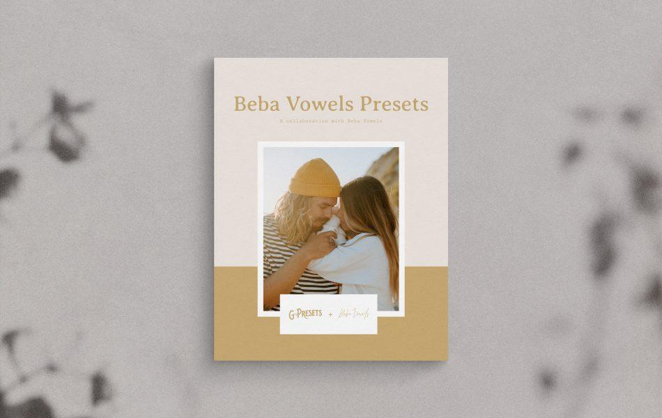 G-Presets - BEBA VOWELS PRESETS: A collaboration with Beba Vowels