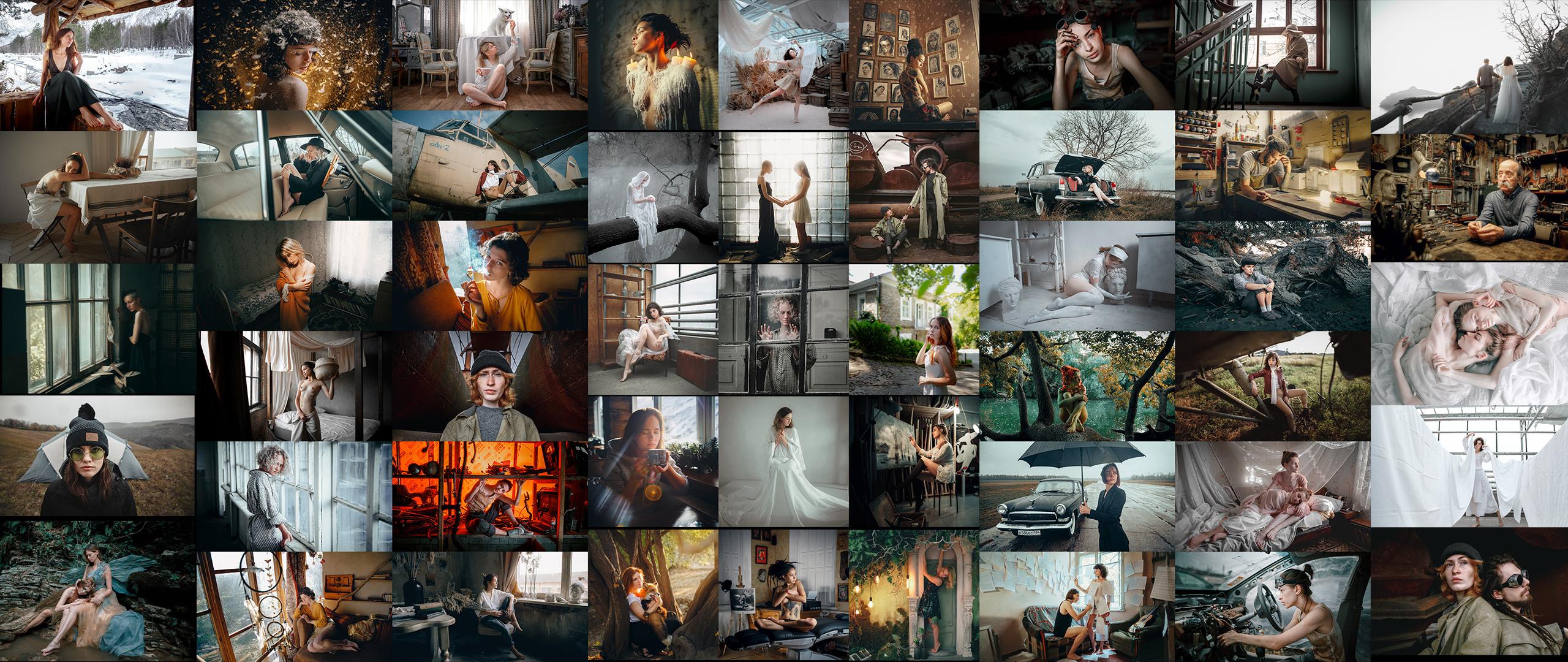 Andrew Vasiliev - 10 year best preset pack (52 Art Presets)