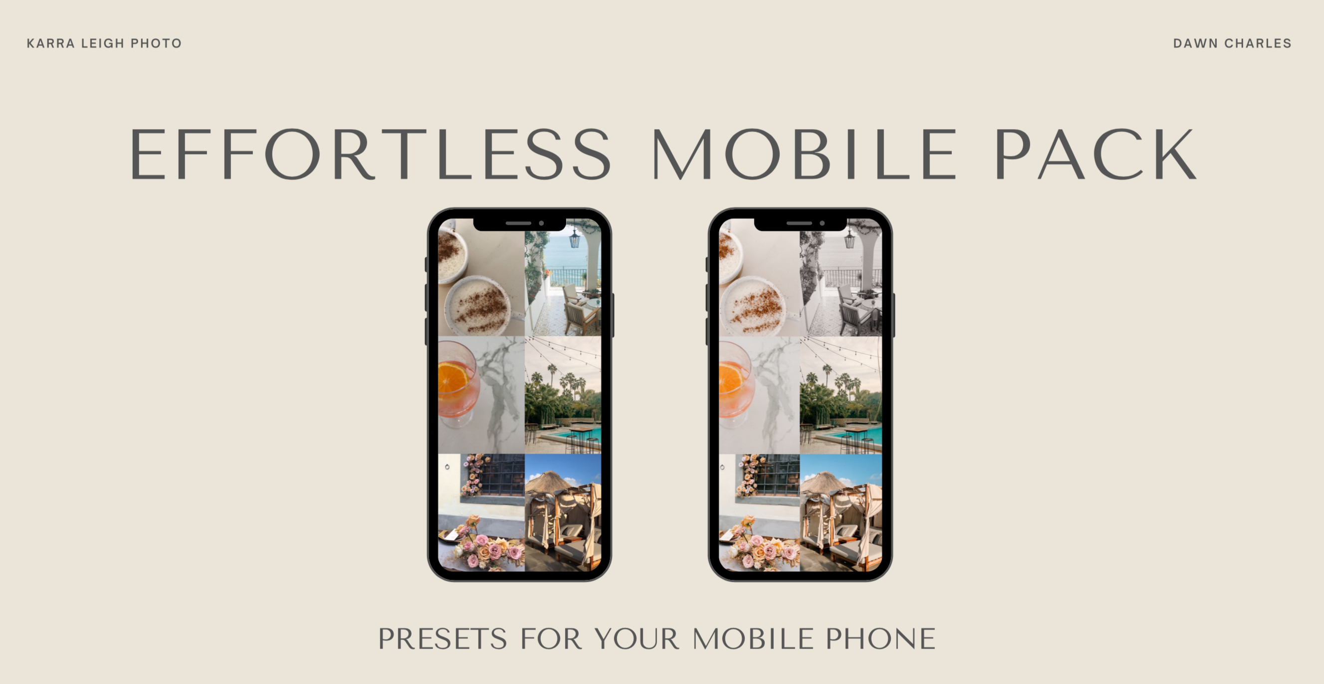 Karra Leigh MOBILE EFFORTLESS PACK