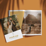 Dirty Boots and Messy Hair DBMH - Customizable Wedding Guide Template - Playful