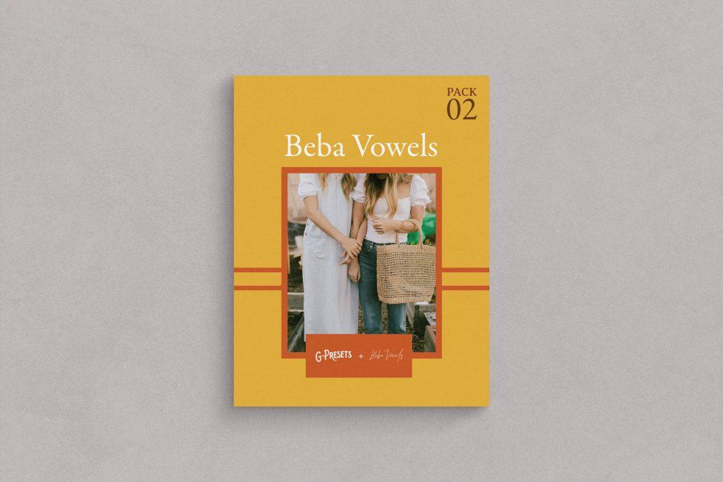 G-Presets - Beba Vowels Pack 02: A collaboration with Beba Vowels